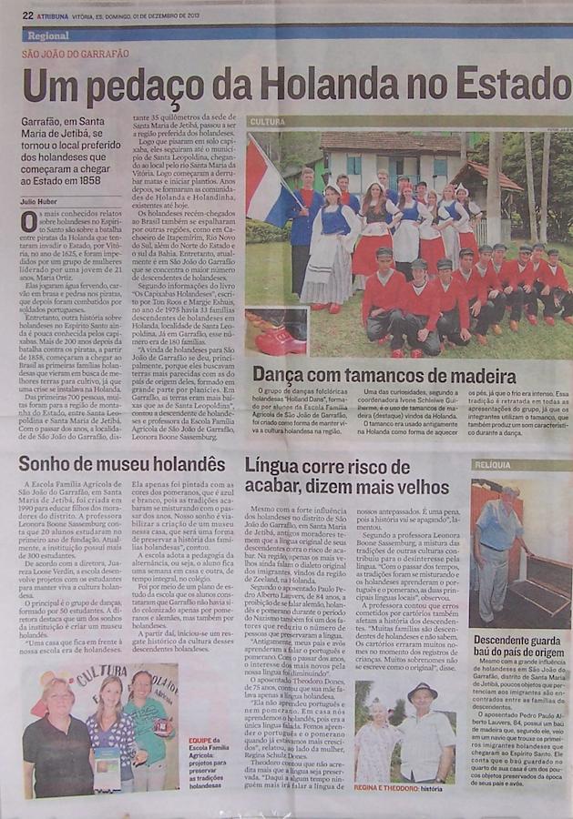 Krantenartikel A Tribuna